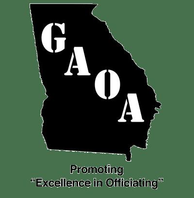 Georgia Athletic Officials Association logo